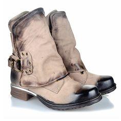 6c4165e54cddb0 Women Retro Ridding Boots Genuine Leather Buckle Ankle Boots Women Shoes  Bottes Femmes Kvinnor St vlar Scarpe da donna botas de mujer kvinnor  stövlar ...