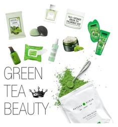 """""""GREEN"""" by curlzfordays ❤ liked on Polyvore featuring beauty, Tokyo Rose, Forever 21, Youth To The People, Sephora Collection, Mario Badescu Skin Care, Innisfree, Vera Wang and GreenTeaBeauty"""