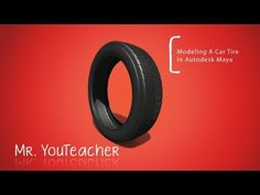 How To Build A Car Tire In Autodesk Maya - YouTube