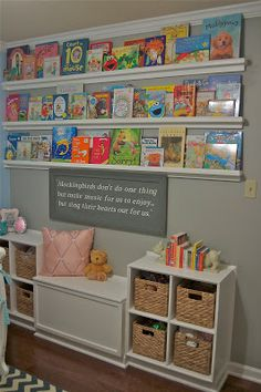 Book themed nursery ideas