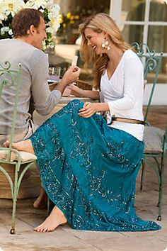 REGALE SKIRT  from Soft Surroundings