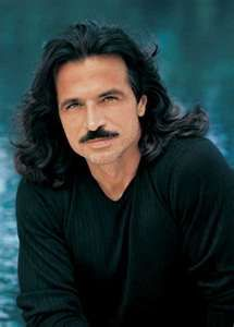 Yanni - not much for long haired men, but oh, how he wore it so well; and that mustache! <3