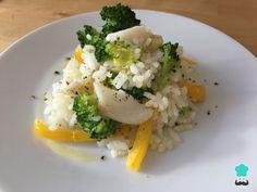 Receta de Arroz con brócoli y bacalao #RecetasGratis #RecetasFáciles #RecetasdeCocina #Arroces