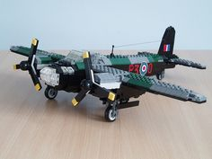 De Havilland Mosquito made in LEGO. how much i wish there was a kit of one of these. i LOVE World War Two aircraft...