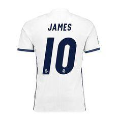 Maglia Calcio Real Madrid JAMES 10 Home 2016 17 - Nuova maglie-outlets 9c68521b608a4