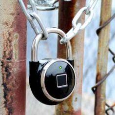 The TappLock smart padlock opens with a fingerprint  http://a.msn.com/r/2/BBoR8lJ