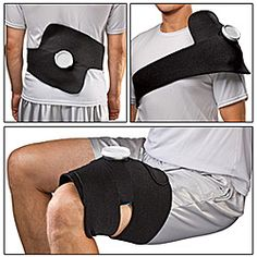 Adjustable Ice Bag Wrap  Hands-Free Way To Apply Ice Pack!
