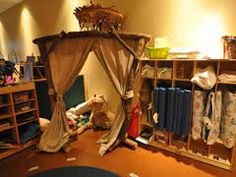 Private reading spots could encourage independent reading.