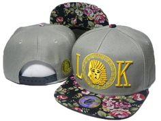 e3b1880b079 Mens Last Kings Tyga s LA Pharaoh LK Face Iconic Embroidery Floral Visor  Novelty Fashion Snapback Cap