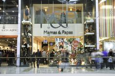 Remote Operated Platform Systems in use at the Mamas & Papas store in Westfield White City!