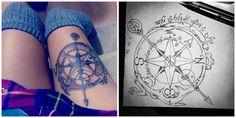 Elven Compass Tattoo