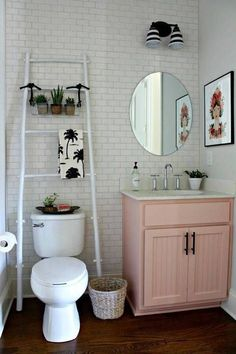 20 Pink Bathroom Ideas | Domino