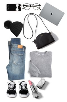 """bl^ck"" by kelsi-xo ❤ liked on Polyvore featuring Blair, Citizens of Humanity, Black, Casetify and Burberry"