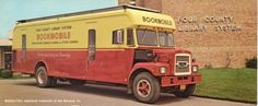Bookmobile, Four County Library System, Binghamton, New York.