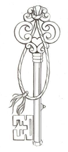 #Tattoo #Key