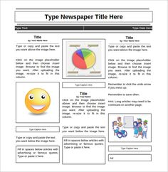 The 8 best newsletter template images on pinterest newsletter newspaper templates 14 free word pdf psd ppt documents download spiritdancerdesigns Choice Image