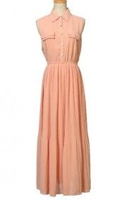 Another long yet retro dress that can make you stand out and feel amazing