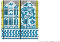 Photo Crochet Mittens Free Pattern, Knit Mittens, Knitted Gloves, Knitting Socks, Knitting Charts, Knitting Patterns, Knit Art, Graph Design, Fair Isle Knitting