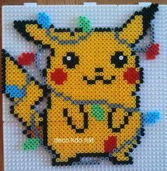 this is perler beads, but could easily be cross stitch
