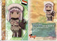 Hetalia Axis Power - Egypt