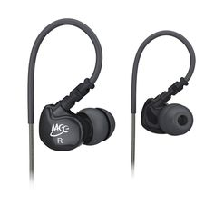 MEElectronics Sport-Fi M6 Noise-Isolating In-Ear Headphones with Memory Wire (Black) for $11.99