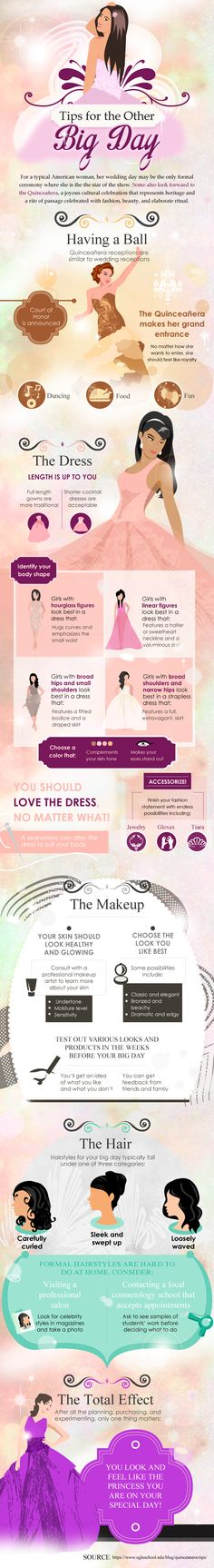 "Quinceanera has traditional been a cultural celebration similar to that of a ""Sweet 16″ party. Considered a more formal event, traditional colors have been white and pink with an abundance of pastels integrated. Modern celebrations have now incorporated blue, turquoise, and even lime greens. A Quinceanera celebration can now extend further out than just an"