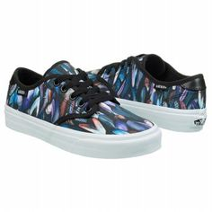 Love this knockaround sneakers with a thick sole and funky print. CAMDEN sneaker by Van's at Famous Footwear. $49.99. Great reviews!