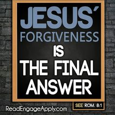 Read. Engage. Apply.: 5 Surprising Things About God's Forgiveness