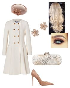 """""""Untitled #482"""" by lovelifesdreams on Polyvore featuring Moschino, Gianvito Rossi, Alexander McQueen and Bloomingdale's"""