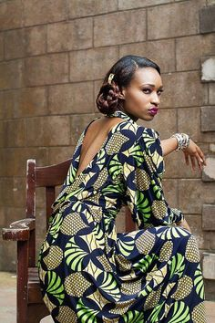true style ~African Prints, African women dresses, African fashion styles, african clothing