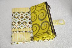 tutorial to go along with the pattern from etsy for a cash-envelope system wallet