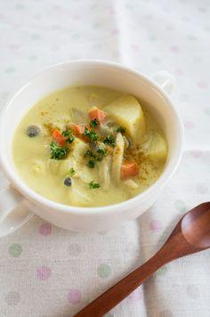カレークリームスープ