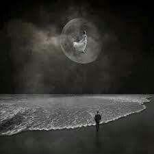 جاءت حلما. .ورحلت وجعا. .  وأنا بين الحلم والوجع. .أعد الخسائر. ..
