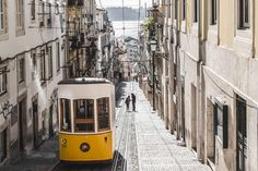 lisbon historic center and tram