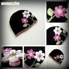 Crochet Headbands, Crochet Kids Hats, Crocheted Hats, Slouchy Hat, Cap, Tricot, Sombreros, Crocheting, Hat Crochet
