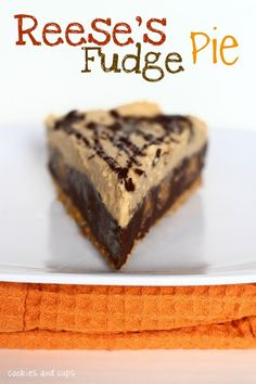 Reese's Fudge Pie