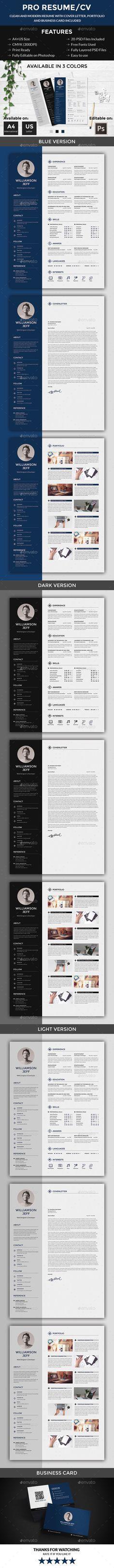 Pro Resume/CV