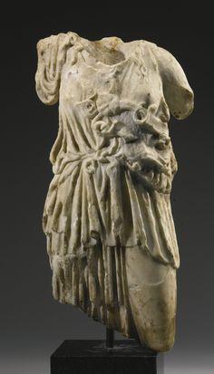 A Marble Torso of Athena, Roman Imperial, Circa 2nd Century A.D.