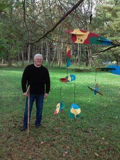 Don Ellis has a landscape of mobiles! Community Art, Mobiles, Trail, Landscape, Mobile Phones, Corner Landscaping
