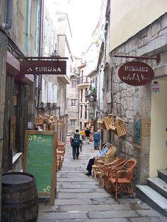 Casco Vello - Vigo, Spain