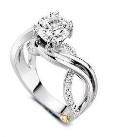 This is my DREAM ring <3 I am going to save everything I can muster to get this. Hopefully by our 5 year anniversary.   Enchantment Engagement Ring - Mark Schneider Design