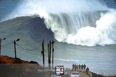 Praia do Norte, Nazaré #Portugal, #surf