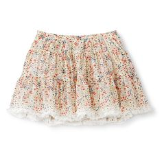Infant Toddler Girls' Full Floral Skirt