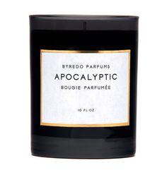 La fin du monde selon Byredo #parfums #packaging #apocalyptic