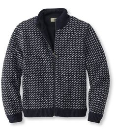 Heritage Sweater, Norwegian Full-Zip Lined: Sweaters and Sweatshirts | Free Shipping at L.L.Bean