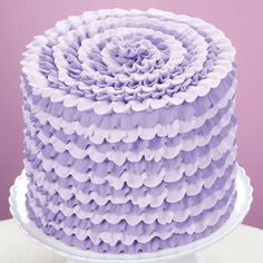 Party Ready Violet Cake. Worth a try.