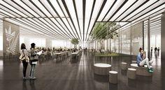 COBE adidas flagship building germany designboom