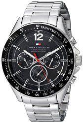 Tommy Hilfiger Men's 1791104 Sophisticated Sport Analog Display Quartz Silver Watch