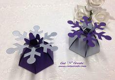Snowflake Wedding Favors Snowflake Bridal by CutNCreateCanada, $36.10