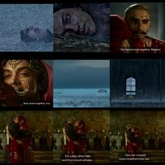 Bajirao mastani. A beautiful Hindi film. Based on the true story of a Hindu emperor who married a Muslim princess against tradition.